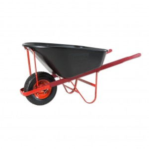 Contractor Poly Wheelbarrow 120L