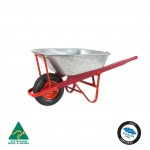 Contractor Galv Wheelbarrow 100L